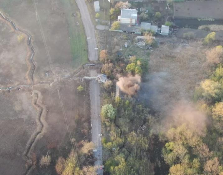 Група К-2 ліквідувала гніздо бойовиків, звідки велися обстріли