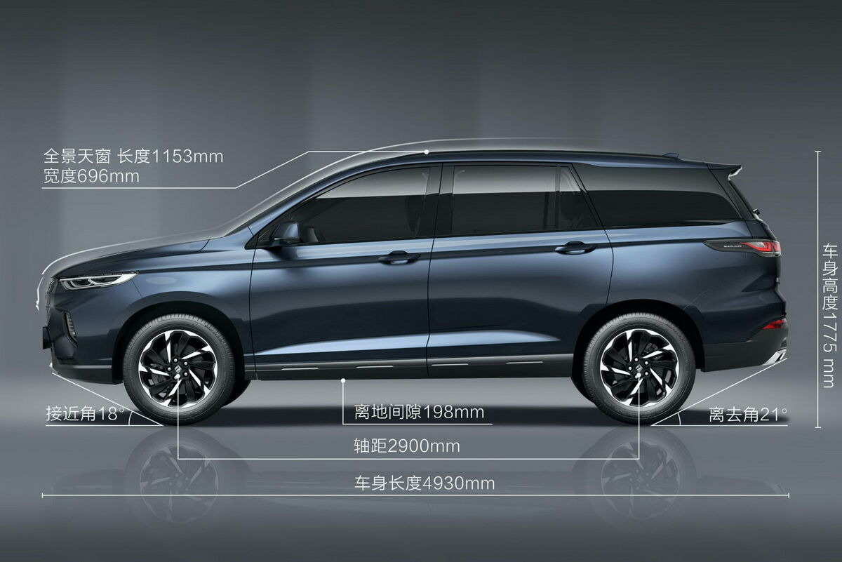 2021 Baojun RS-7. фото:
