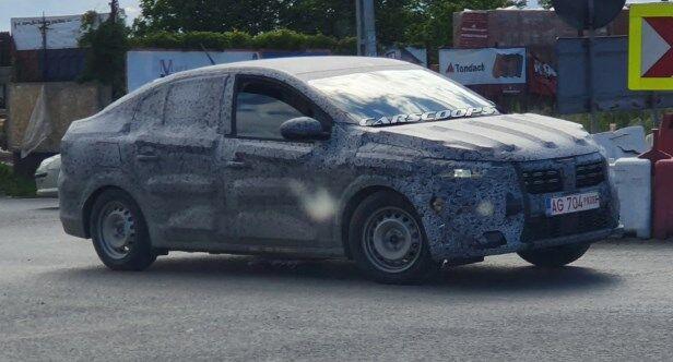 Новый Renault Logan 2021 проходит активную фазу испытаний на дорогах.