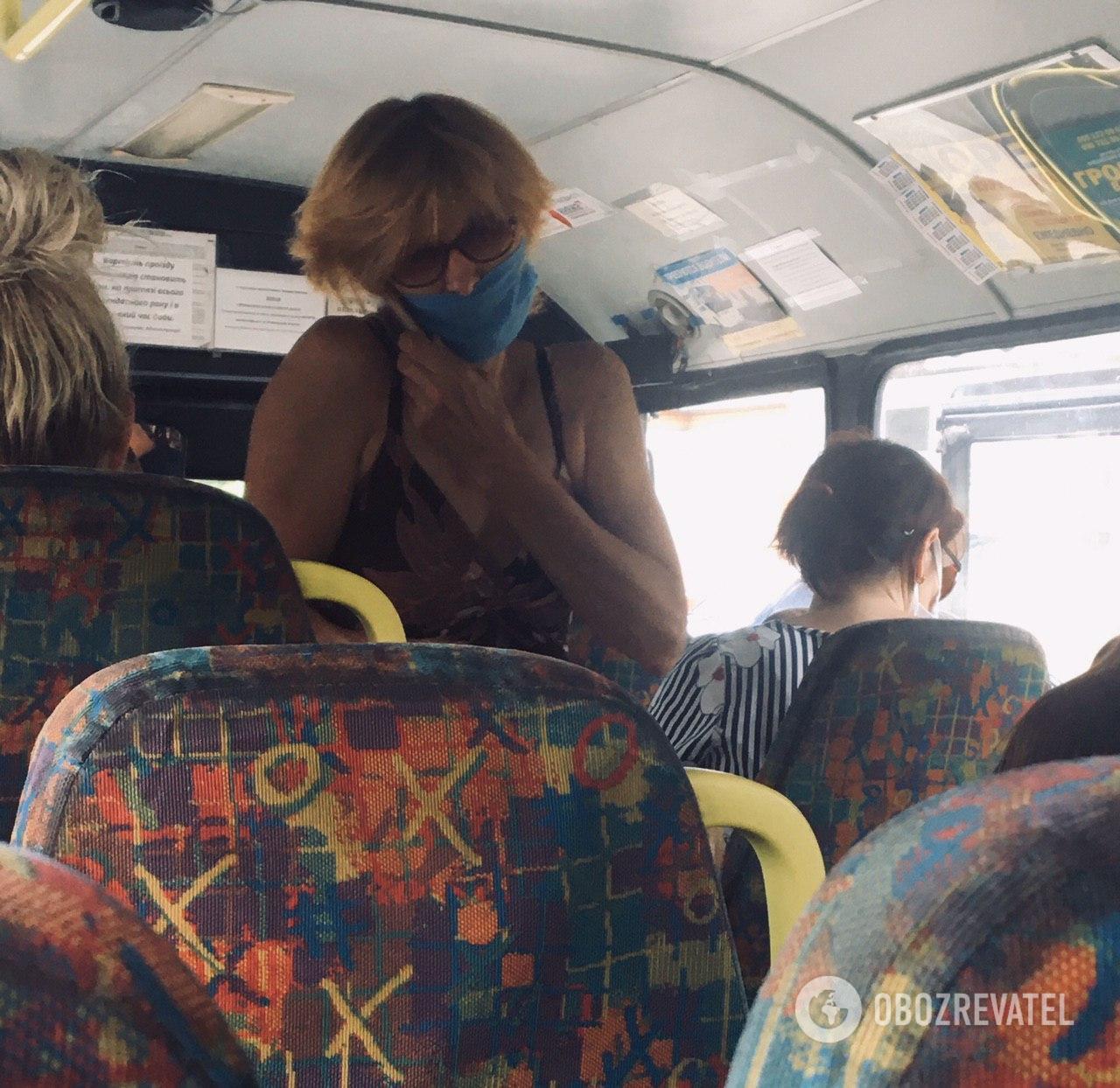 В больших автобусах еще есть шанс соблюдать социальную дистанцию