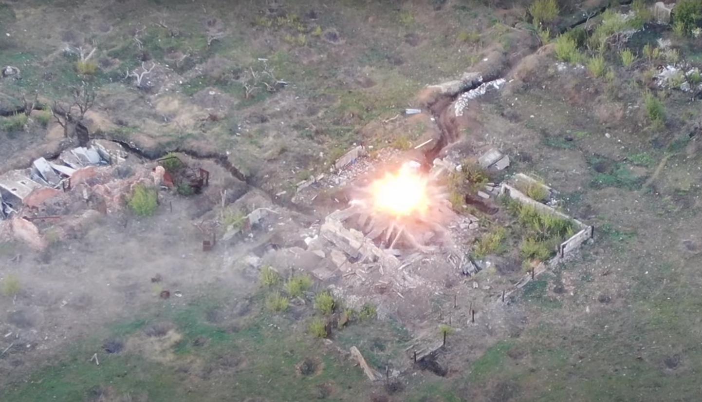 Момент розгрому позицій батальйону терориста Ходаковського