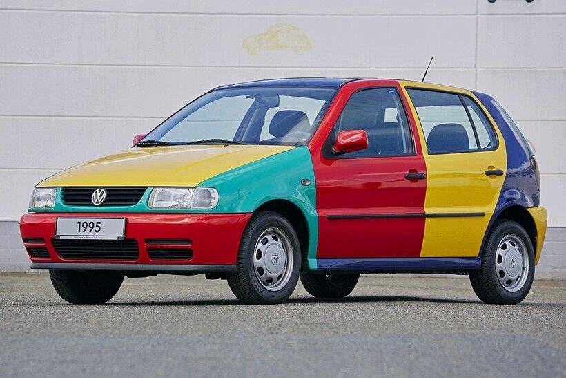 VW Polo III Harlekin, 1995 год