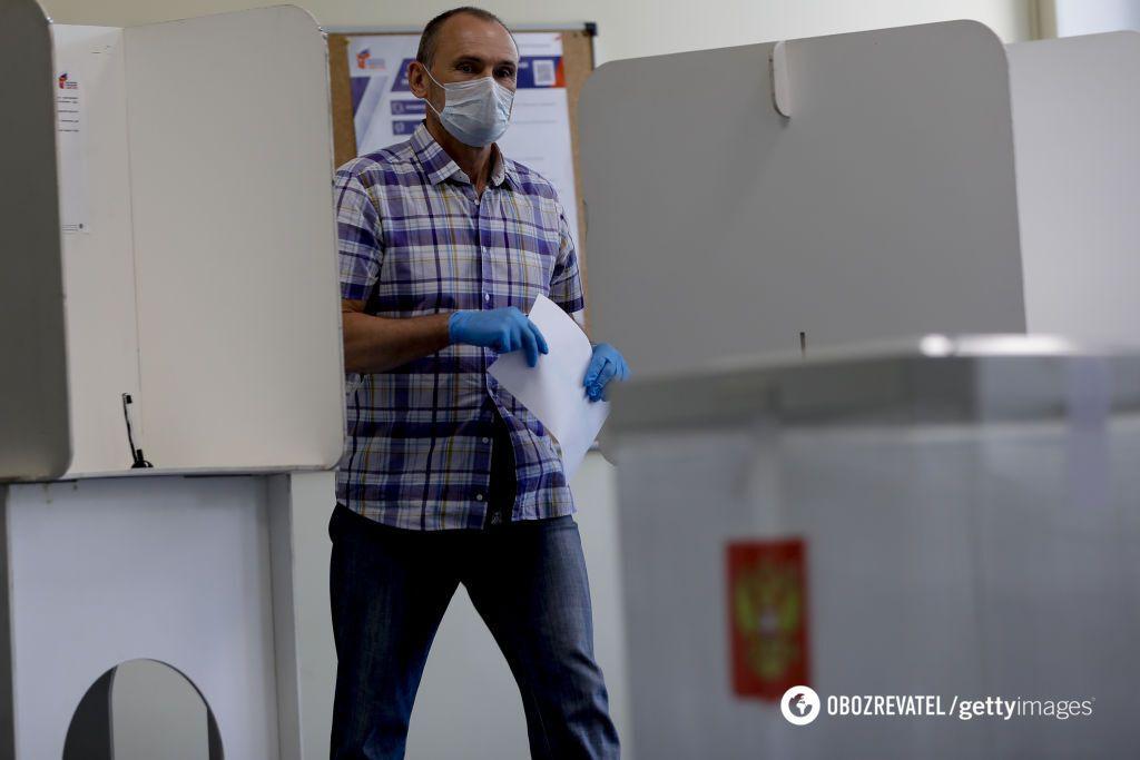 Голосование об изменениях в Конституцию РФ