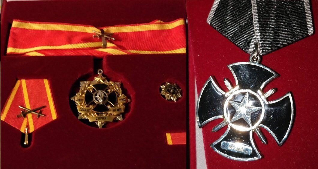 Сирійські медалі найманця