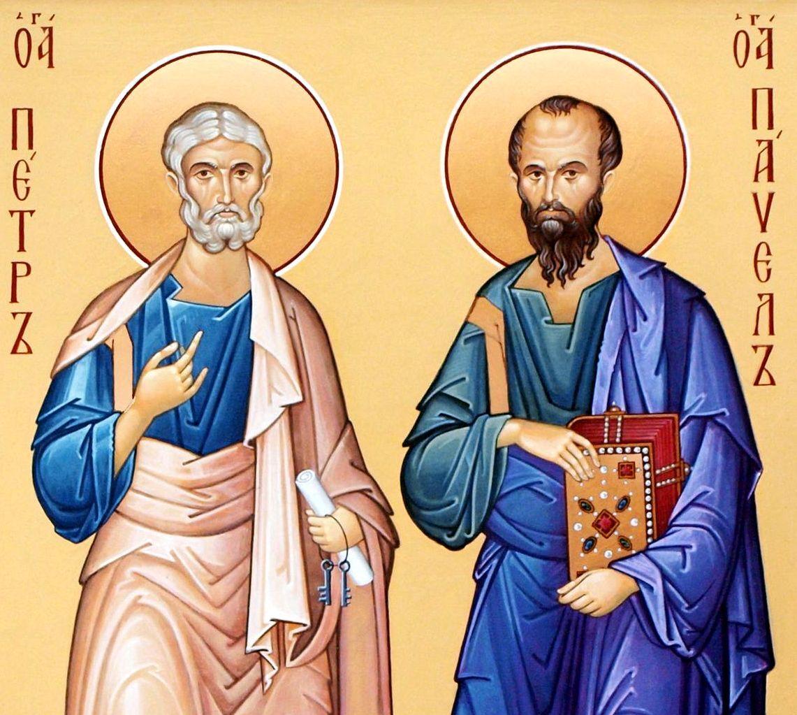 Апостолы Петр и Павел приняли мученическую смерть в один день