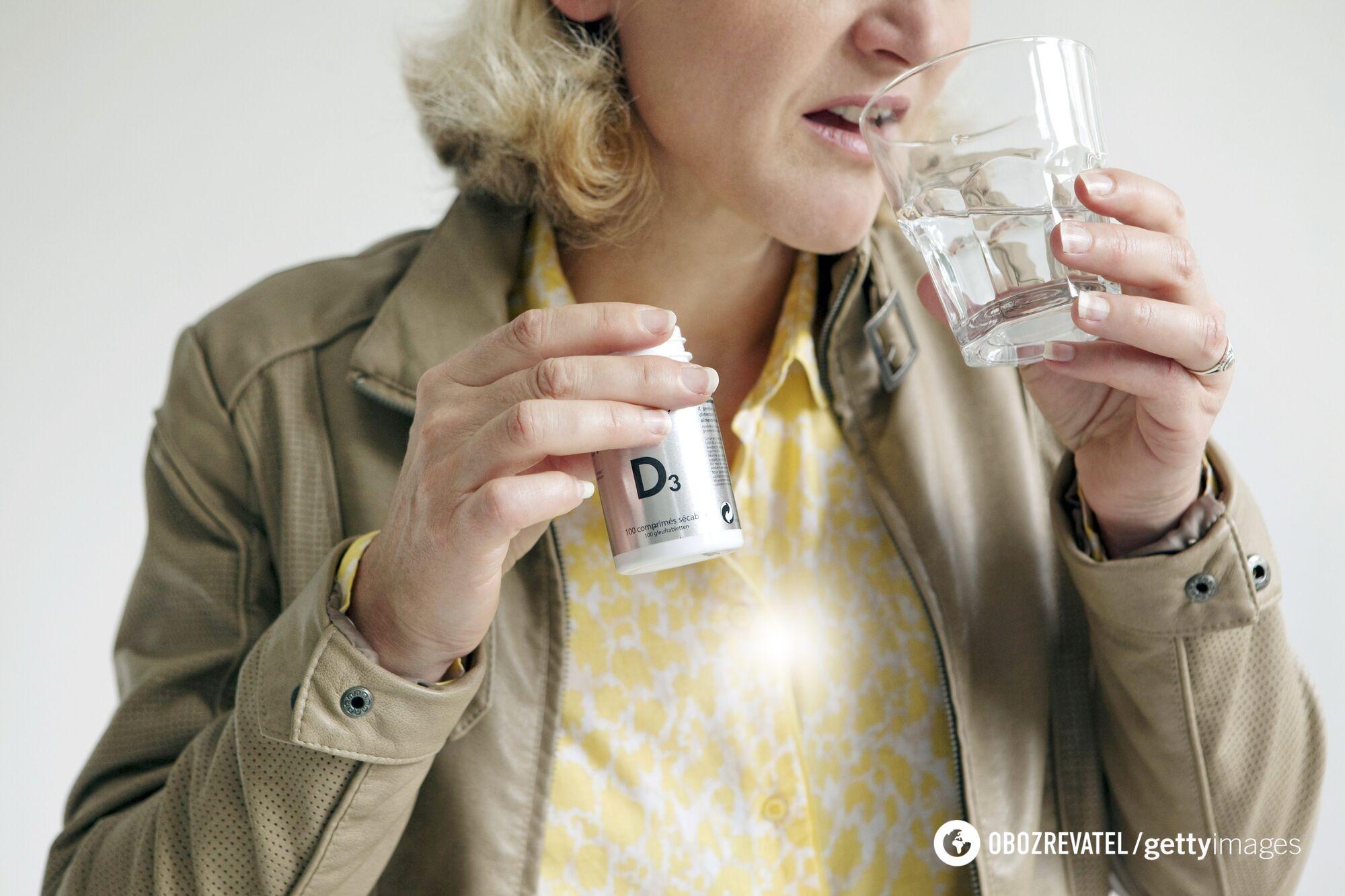 Недостаток витамина D может привести к депрессии