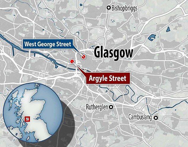Нападение в Глазго.
