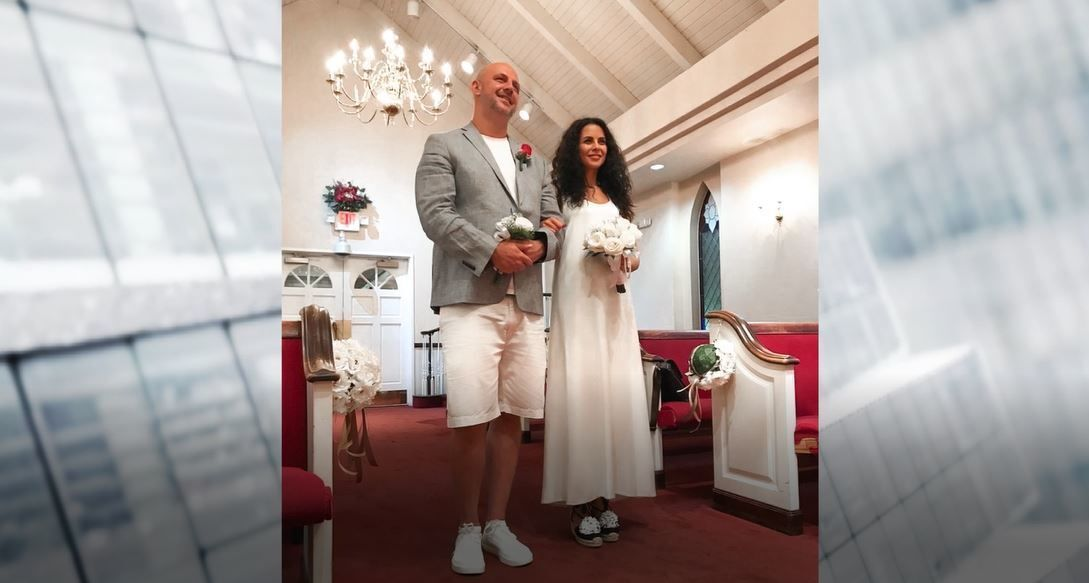 Свадьба в Лас-Вегасе.