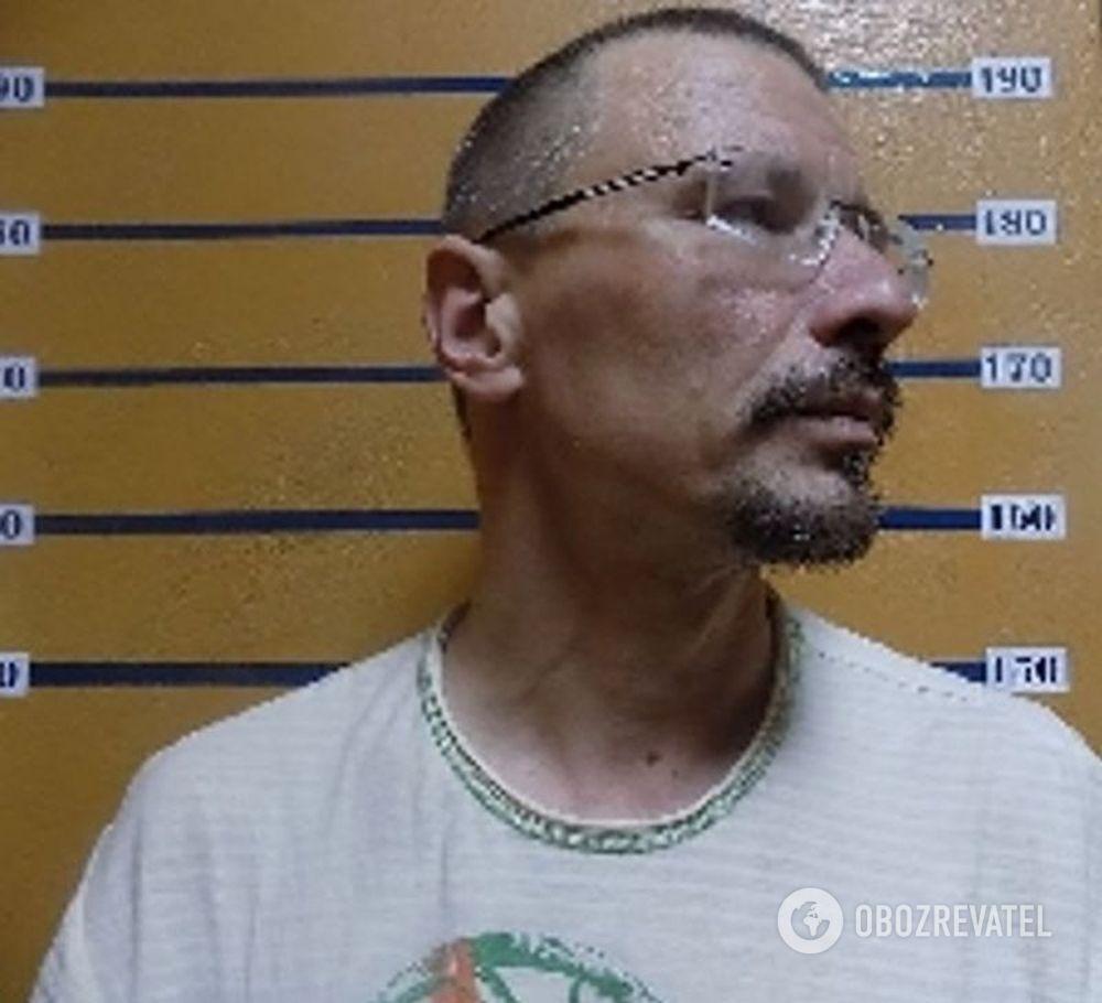 Владимир Живага после задержания