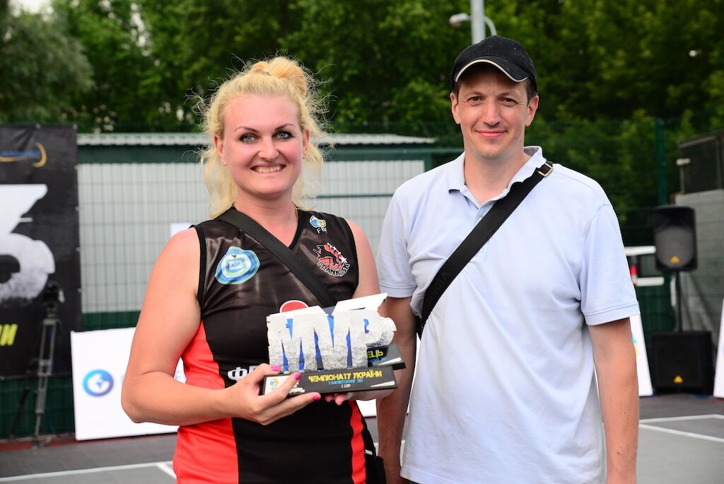 Анна Рульова - MVP женской сетки чемпионата Украины 3х3