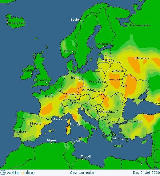 Погода в Украине 4 июня