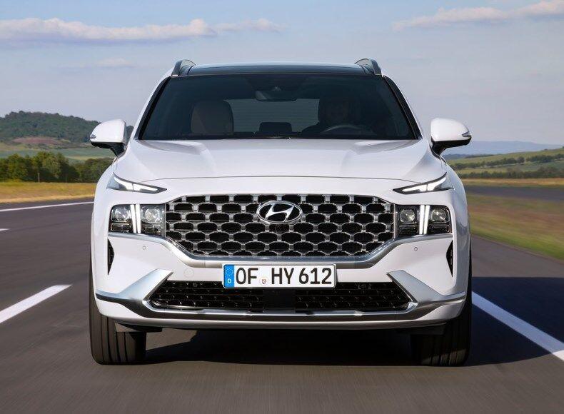 Новий кросовер Hyundai Santa Fe 2021 модельного року