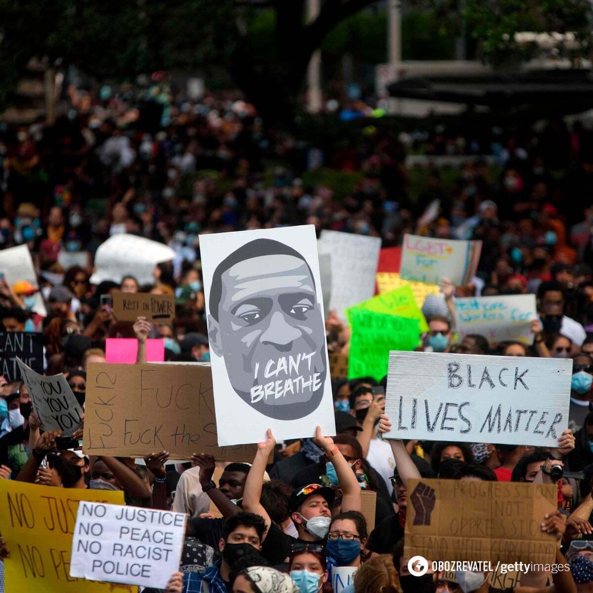 Протесты из-за смерти Джорджа Флойда