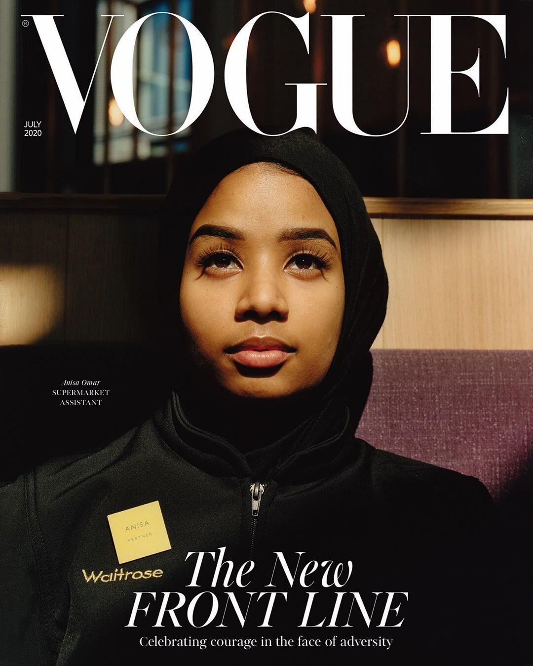 Продавчиня та машиністка: Vogue представив несподівані обкладинки журналу