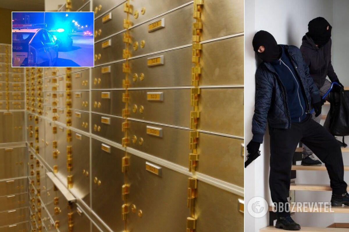 В Киеве грабители поставили рекорд – вскрыли 17 банковских ячеек