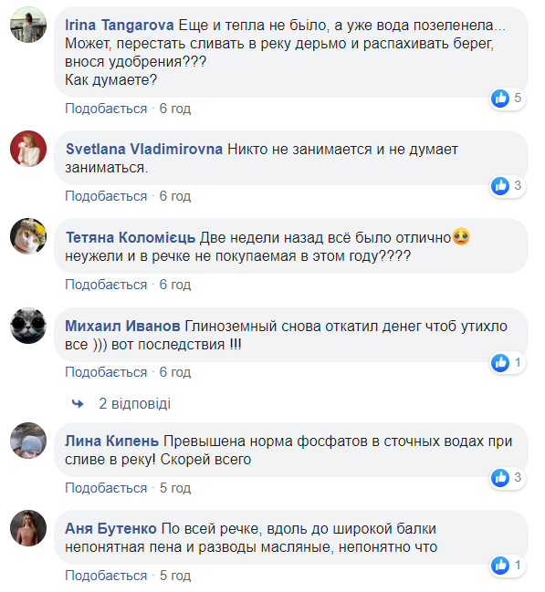 Коментарии пользователей