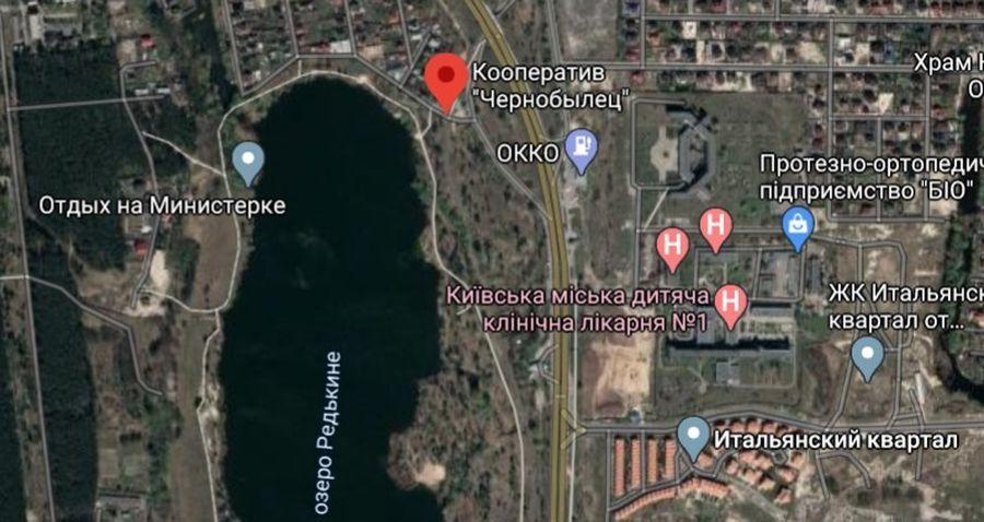 """Закрытый охраняемый кооператив """"Чернобылец"""" находится на берегу озера Министерка"""
