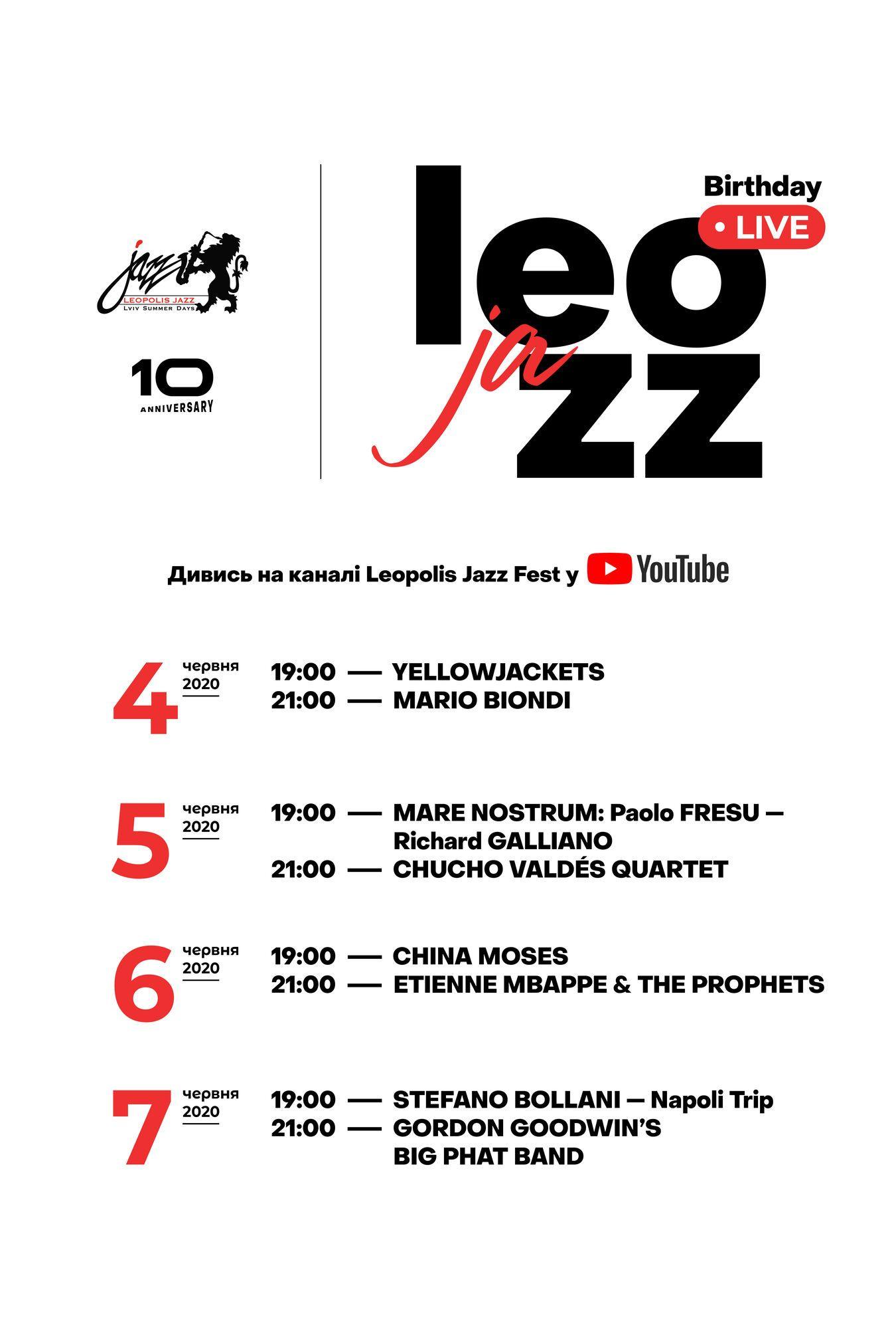 Ювілейний Leopolis Jazz Fest 2020 проведуть онлайн: де і що дивитися