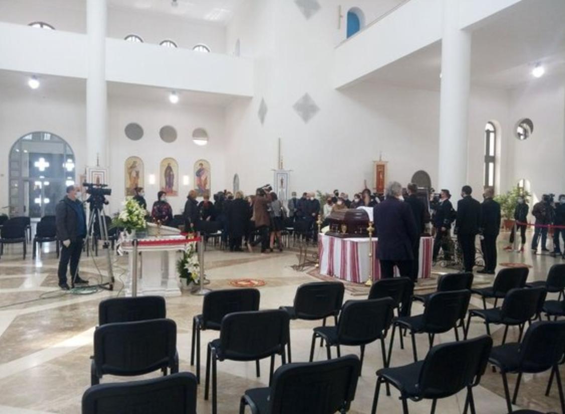 Церемония прощания с Мирославом Скориком