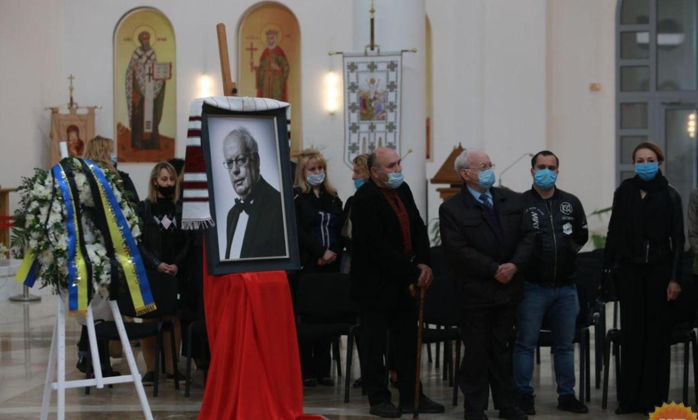 Прощання з Мирославом Скориком