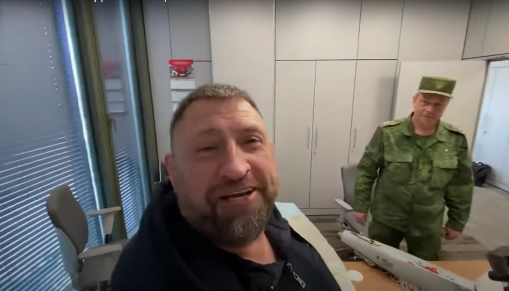 Фрагмент відео зі Сладковим / YouTube (скріншот відео)