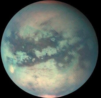Супутник Сатурна Титан