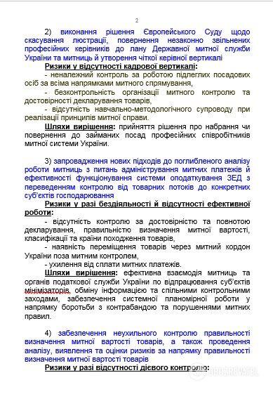 Экс-таможенники хотят реформировать ГТС, - источник