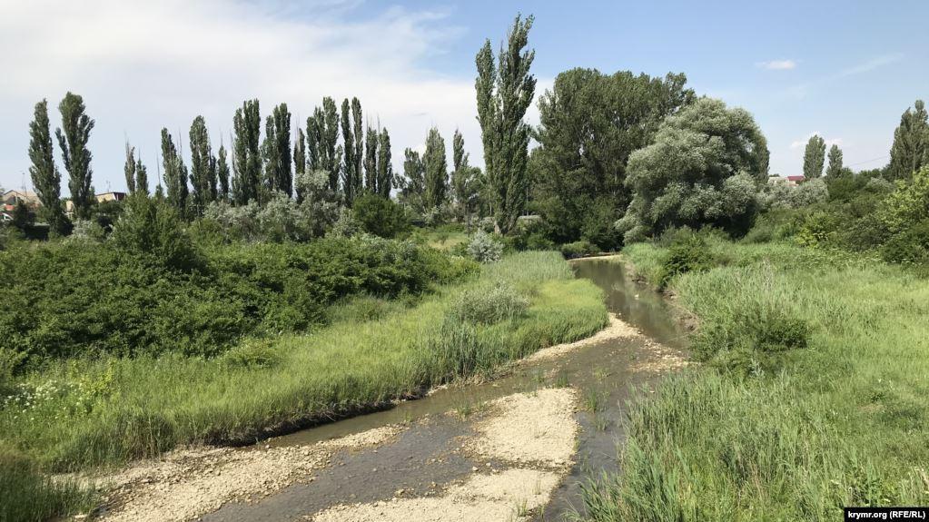 Річка Біюк-Карасу поблизу Білогірська