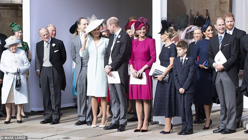 Гости на свадьбе принцессы Евгении