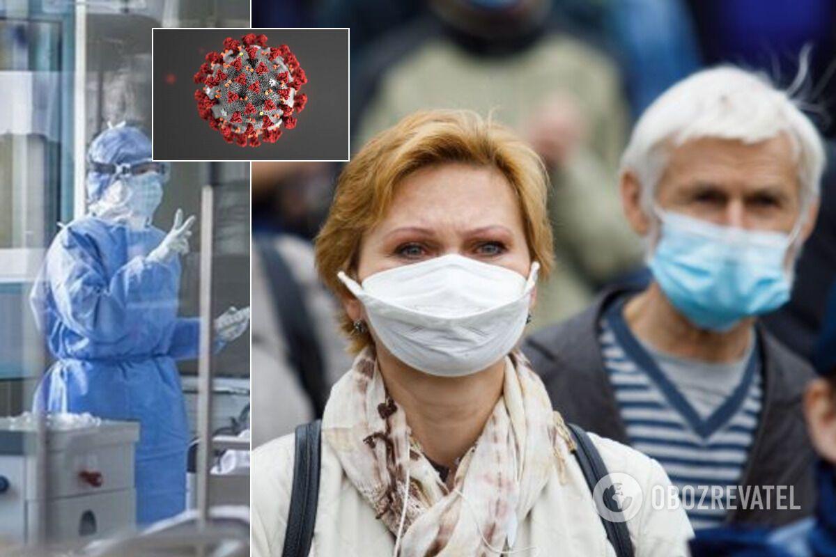 Эпидемия коронавируса в Украине