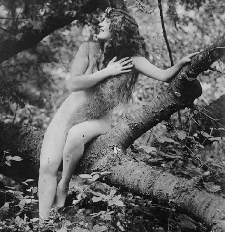 Аннет Келлерман впервые разделась для кино