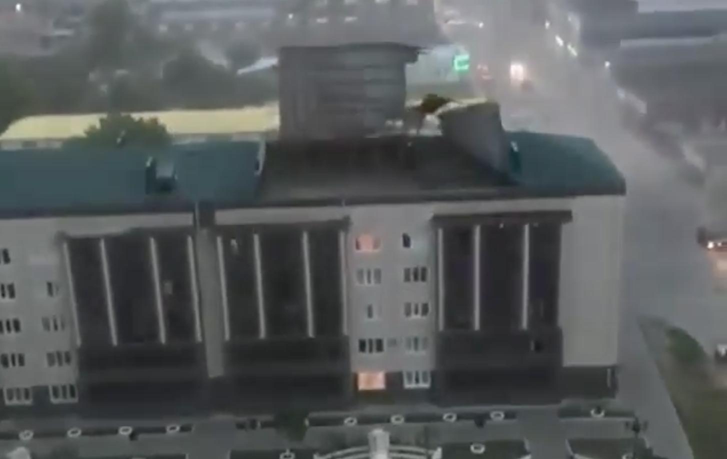 Ураган в Чечне