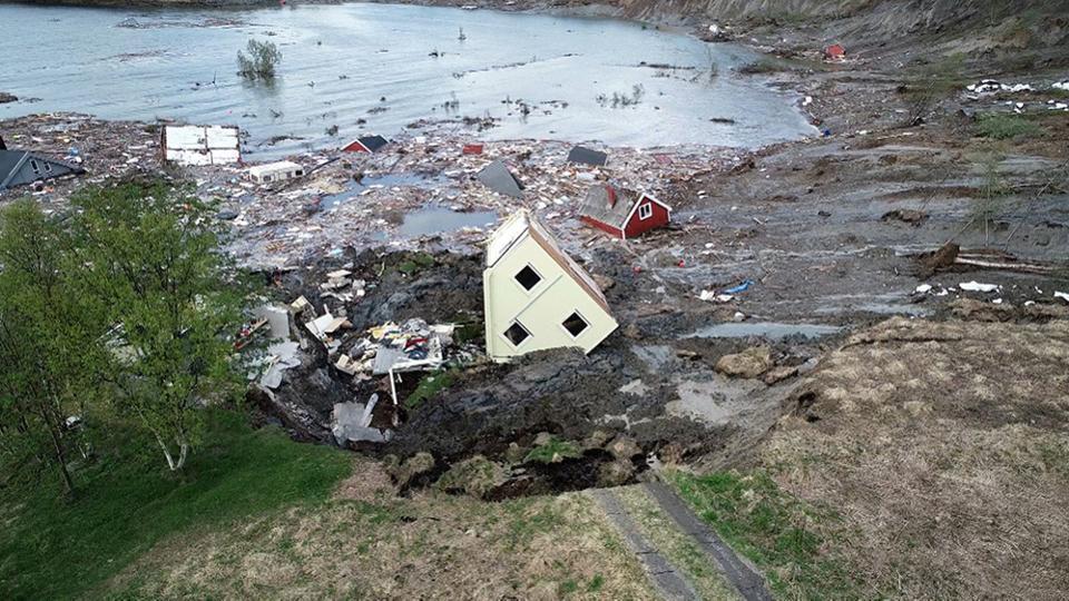 Зсув в Норвегії
