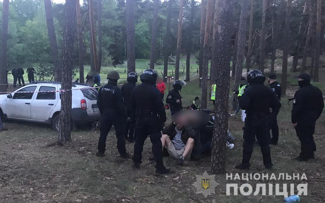 """Задержание участников """"Потон"""""""