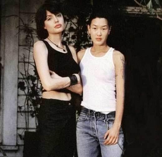 Анджеліна Джолі з братом