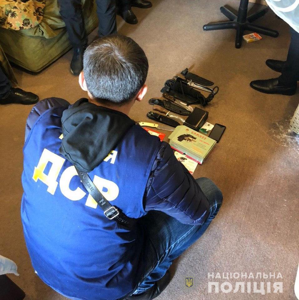 Обыски у участников перестрелки в Броварах