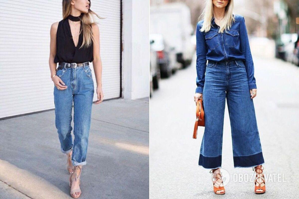 Модные джинсы лета-2020: как выбрать идеальную модель по типу фигуры