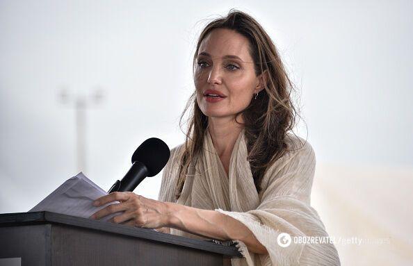 Анджеліна Джолі зараз