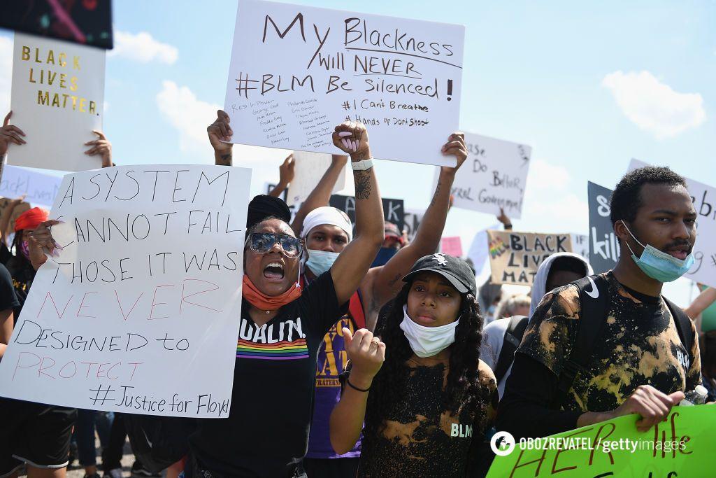 Протесты в штате Миссури (США)