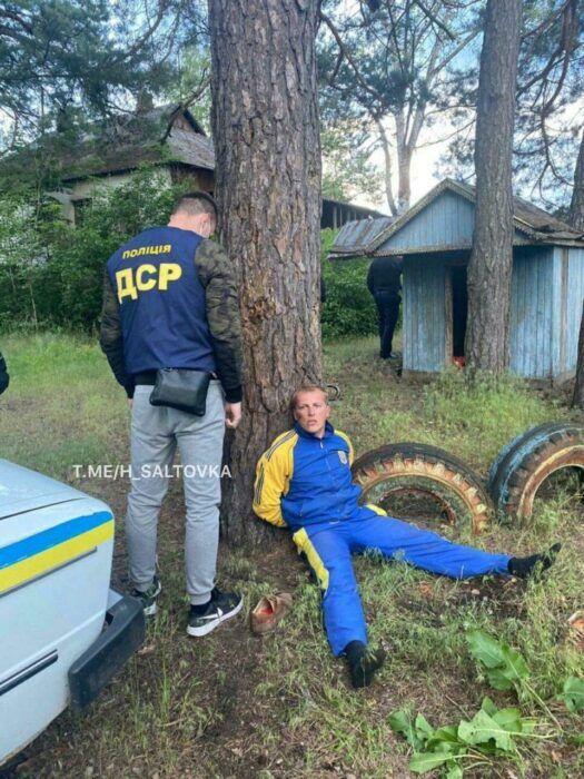 Из-за дрона побили авто полиции: на Харьковщине задержали поселенцев Слобожанской Сечи