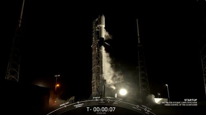 Запуск ракеты на орбиту Земли