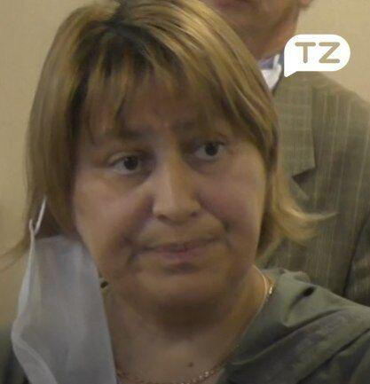 На суді Суханова виглядала ось так