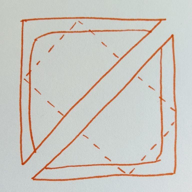 Треугольный сэндвич