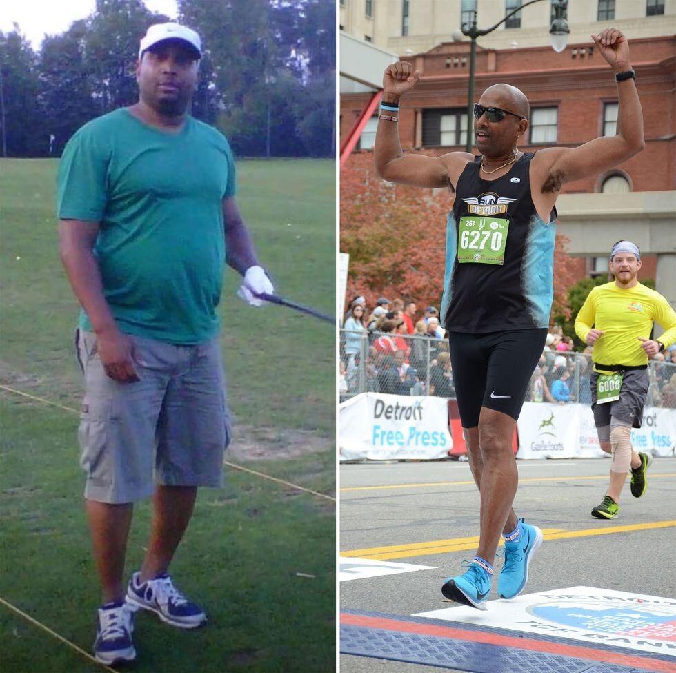 Нейт Морган до и после похудения