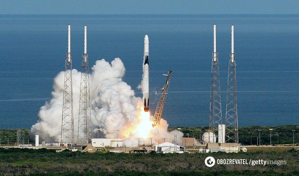 Старт ракети Ілона Маска