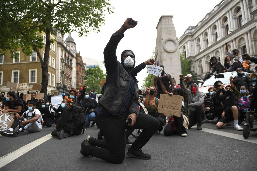 Демонстрація в Лондоні, Британія