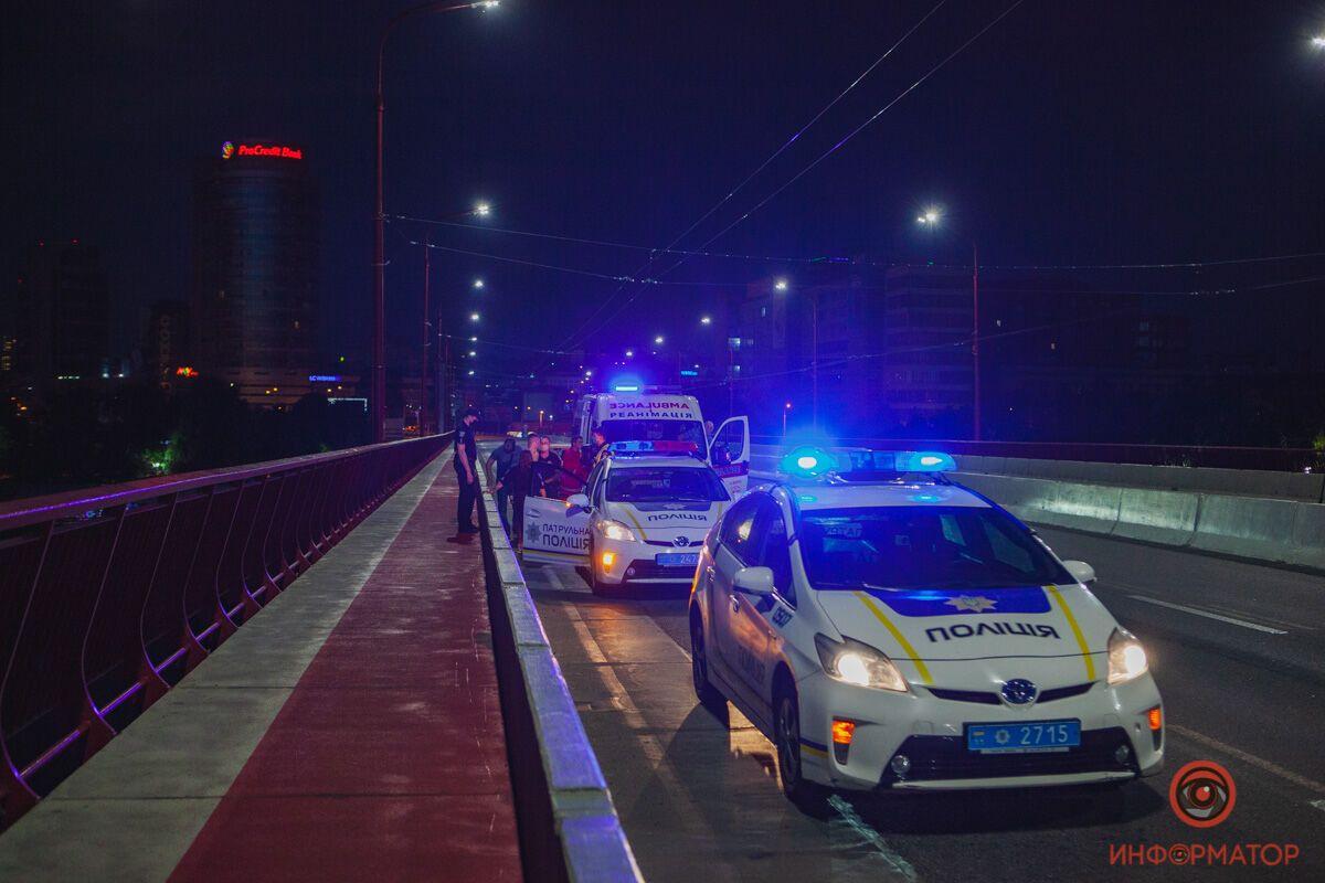 Правоохранители остановили парня, который пытался покончить с жизнью