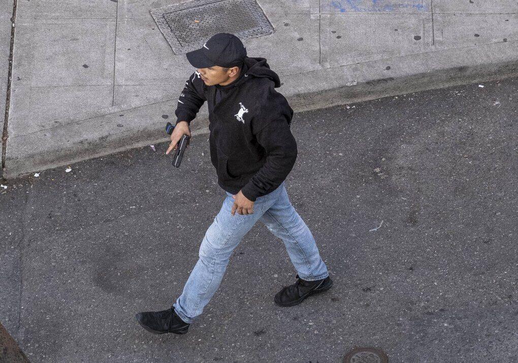 Задержанный стрелок