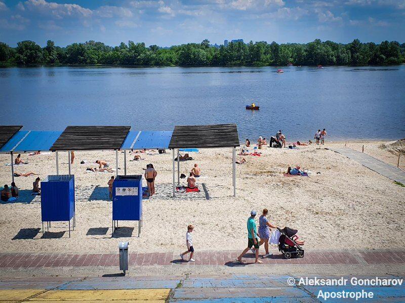 В Киеве открыли пляжный сезон