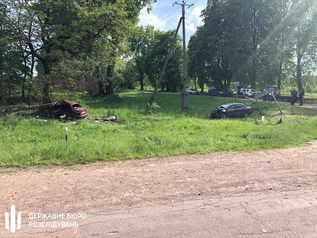 ДТП при участии полицейского на Житомирщине